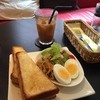 cafe Dali - 料理写真:トーストセット・ドリンク付き(¥600)