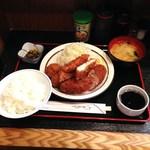 三河屋 - H26.4 ミックス定食