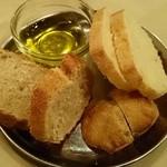 アッラ・クチーナ・デル・ソーレ - [2回目]塩気の少ないイタリアらしいパン