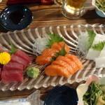 遠州屋 本店 - お刺身(コース料理)