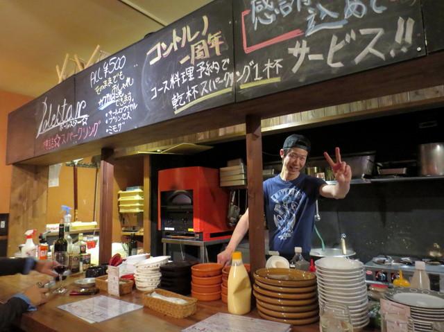 錦イタリア食堂 コントルノ - 楽しい店長さん^^
