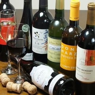 毎日!グラスワインを10種お取り揃えっっ!!!