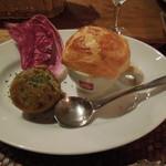 26610329 - 牡蠣ランチ前菜