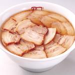 喜多方ラーメン 坂内 - 料理写真:焼豚ラーメン