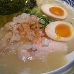 ラァメン トリイチ - 鶏白湯ラーメン塩