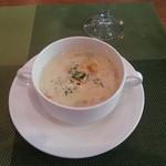 アブリ ラ フォレ桜亭 - スープ