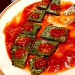 アリーバ - 夜のメニュー サボテンステーキ昼は要予約。