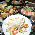 はなの舞 - 【5~7月限定】青葉の宴 お料理2,000円 飲み放題B付き3,500円