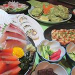 はなの舞 - 【5~7月限定】桔梗の宴 お料理3,000円 飲み放題B付き4,500円