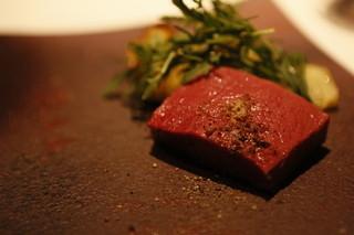 カイノヤ - 熟成牛のアイアンステーキ