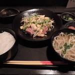 琉の介 - ランチのゴーヤチャンプル定食