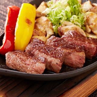 ジューシー!極上の宮崎牛ステーキ