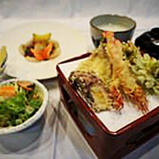 【かき揚げ】コース料理