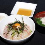 バックス - ランチでは愛媛の郷土料理『鯛めし』が人気No,1