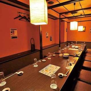 接待・会食・宴会には個室座敷をご用意いたします。