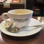 サンマルクカフェ - ブレンド珈琲(S) 200円