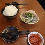 旭町ホルモン  - 「牛ホルモン煮込みランチ」 819円