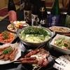 三拍子 - 料理写真:平日限定、飲み放題の3500円コース。4名様分の一例です