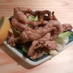 鶏とそば イロドリ - 焼き鳥(せせり)