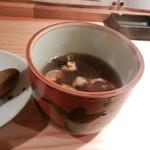 鶏とそば イロドリ - 鴨ぬき(鴨蕎麦の蕎麦ぬき)