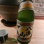 鶏とそば イロドリ - 日本酒(八海山)