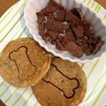 ドッグカフェ プティシアン - ワン用馬肉と雑穀パンケーキ