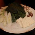 北海道しゃぶしゃぶ ポッケ - 野菜盛り♪