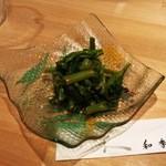 和季 - 菜の花の辛子和え