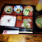 屋久島ふるさと市場 島の恵み館 レストラン - 日替わりランチ