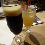 武蔵野カンプス - ビールとジンジャエール