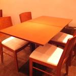 シーズホーム - 4名様テーブル
