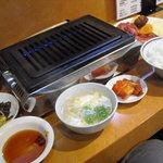 焼肉とも - 焼肉ランチA ¥1000
