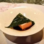日本料理 オカモト - 2014.4 桜の葛餅