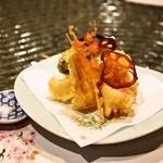 日本料理 オカモト - 2014.4 春野菜の天ぷら