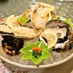 日本料理 オカモト - 2014.4 兵庫県赤穂生牡蠣