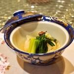 日本料理 オカモト - 2014.4 浅利の飯蒸し