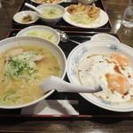 錦海楼 - 【焼豚卵飯定食@800円】