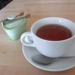 ブランジェリーウーフ - ドリンクセットの雪国紅茶