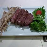 石器料理いしかわ - 特選ステーキ・牛サーロイン
