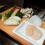 石器料理いしかわ - 厳選された食材