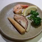 石器料理いしかわ - 季節の野菜