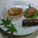 石器料理いしかわ - 前菜(珍味三品)