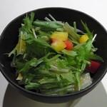 石器料理いしかわ - 季節のサラダ