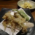 太郎屋 - ホタルイカの天ぷら