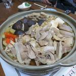 ジビエ料理アンザイ - 猪鍋