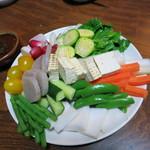 ジビエ料理アンザイ - 生野菜