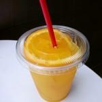 ハリウッドバーガー - オレンジジュース