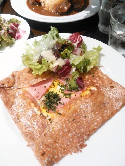 フレンチカフェレストラン 神楽坂 ル コキヤージュ - がレットコンプレット 800円