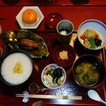 祇園畑中 - 朝食