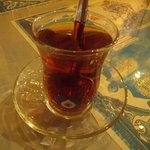 ナザール - 食後にサービスで出してくれるお茶。